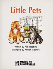 Cover of: Little pets | Ken Robbins