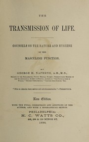 Cover of: Transmission of life
