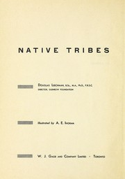 Cover of: Native Tribes of Canada | Leechman