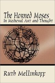 Cover of: The horned Moses in medieval art and thought