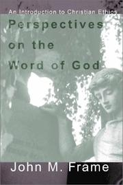 Cover of: Perspectives on the Word of God | John M. Frame
