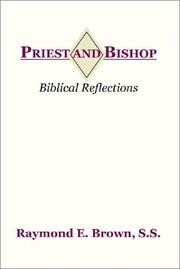 Cover of: Priest and Bishop | Raymond Edward Brown
