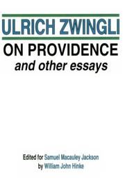 Cover of: On Providence and Other Essays