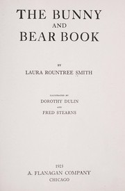Cover of: The bunny and bear book