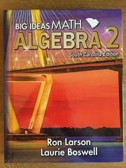Cover of: Big Ideas Math Algebra 2 (South Carolina) |