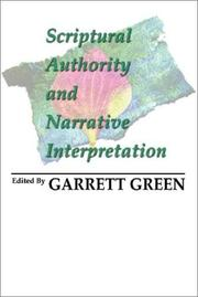 Cover of: Scriptural Authority and Narrative Interpretation