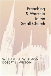 Cover of: Preaching and worship in the small church