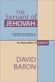 Cover of: The servant of Jehovah