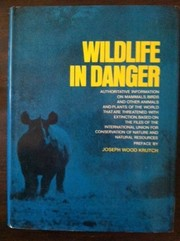Cover of: The red book: wildlife in danger | Fisher, James