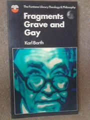 Cover of: Fragments grave and gay
