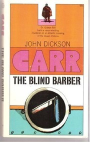 Cover of: The blind barber