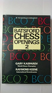 Cover of: Batsford chess openings 2