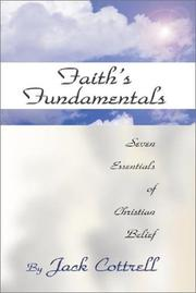 Cover of: Faith's Fundamentals