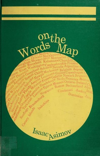 Words on the map by