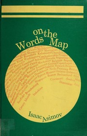 Cover of: Words on the map |
