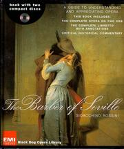 Cover of: The Barber of Seville (Black Dog Opera Library) | Gioacchino Rossini