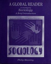 Cover of: A Global Reader to Accompany Sociology