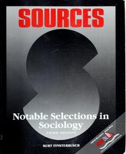 Cover of: Sources