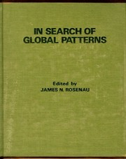 Cover of: In Search of Global Patterns