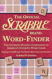 Cover of: The official Scrabble brand word-finder