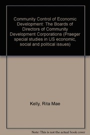 Community control of economic development