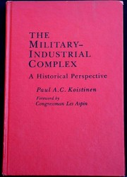 Cover of: The military-industrial complex