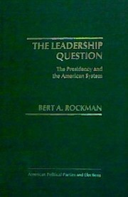 Cover of: The leadership question