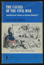 Cover of: The causes of the Civil War
