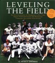 Cover of: Leveling the field | G. Scott Thomas