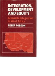 Cover of: Integration, development, and equity