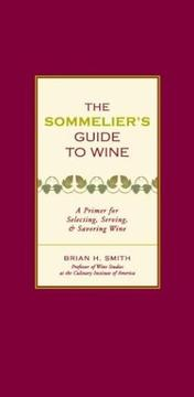 Cover of: The Sommelier's Guide to Wine