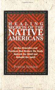 Cover of: Healing Secrets of the Native Americans