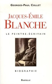 Cover of: Jacques-Emile Blanche