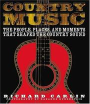 Cover of: Country Music | Richard Carlin