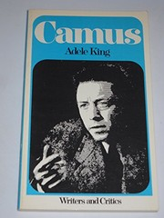 Cover of: Camus. by Adele King