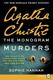 Cover of: The Monogram Murders: The New Hercule Poirot Mystery (Hercule Poirot Mysteries)
