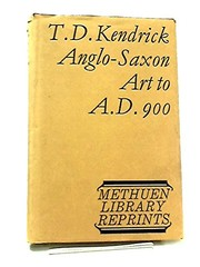 Cover of: Anglo-Saxon art to A.D. 900