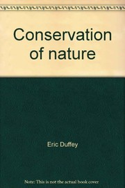 Cover of: Conservation of nature. | Eric Duffey
