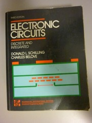 Cover of: Electronic circuits |