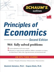 Cover of: Schaum's Outline of Principles of Economics, 2nd Edition (Schaum's Outlines)