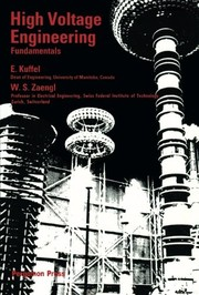 Cover of: High-voltage engineering | E. Kuffel