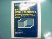 Cover of: Thinking with models