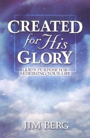 Cover of: Created for His Glory