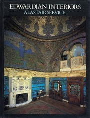 Cover of: Edwardian interiors | Alastair Service