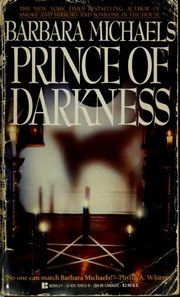 Cover of: Prince of darkness | Barbara Michaels
