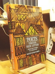Cover of: Poets through their letters. | Martin Seymour-Smith