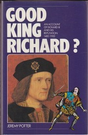 Cover of: Good King Richard?