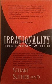 Cover of: Irrationality | N. S. Sutherland