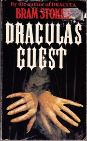 Cover of: Dracula's guest, and other weird stories: with the lair of the white worm