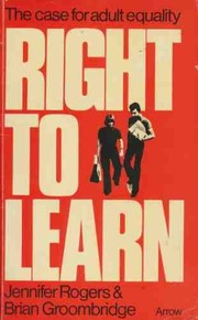 Cover of: Right to learn | Jenny Rogers